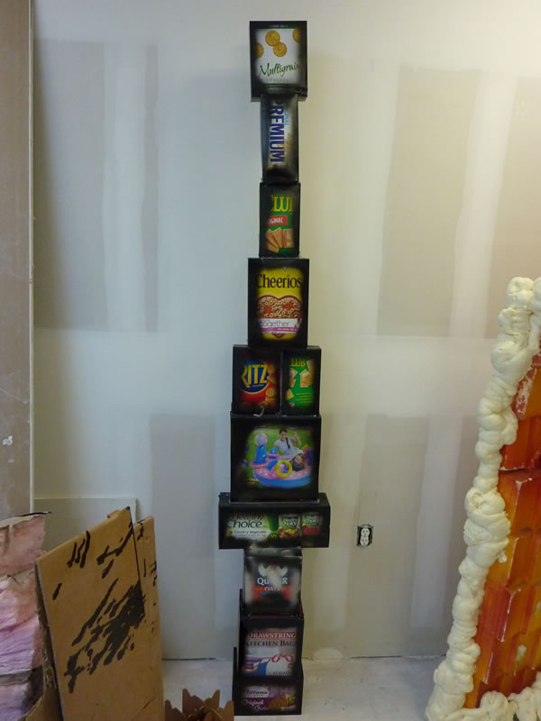 John Norwood's Packaged Foods Tower