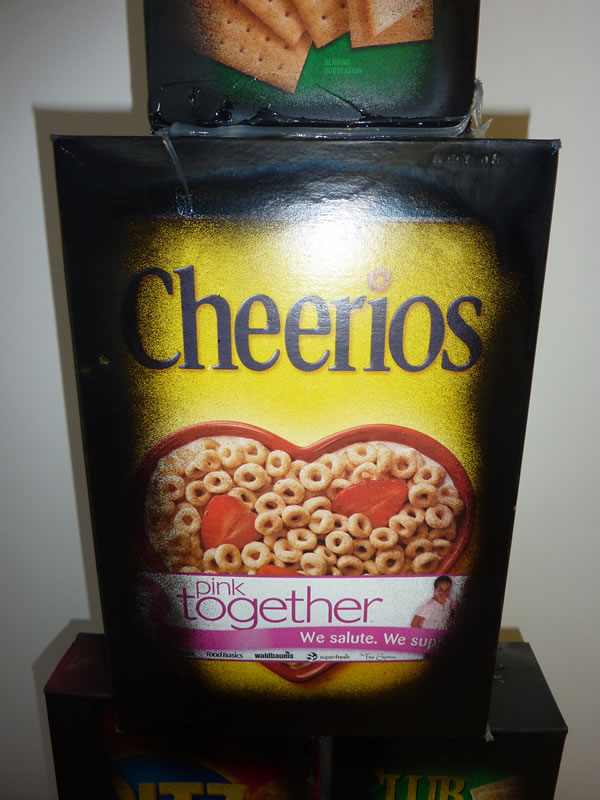 John Norwood's Cheerio Box In Black